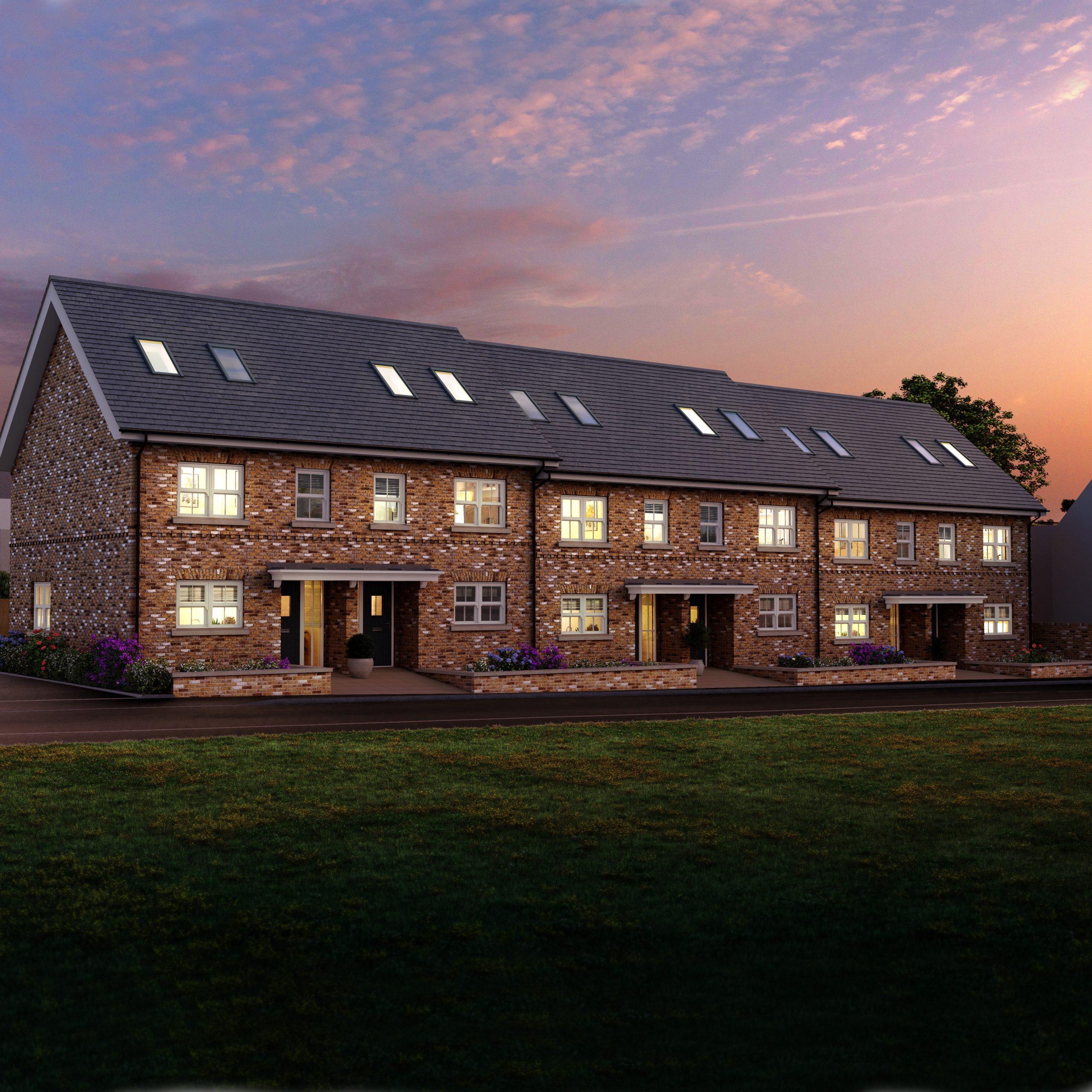 Bengeo Hertford 6 new build Townhouses