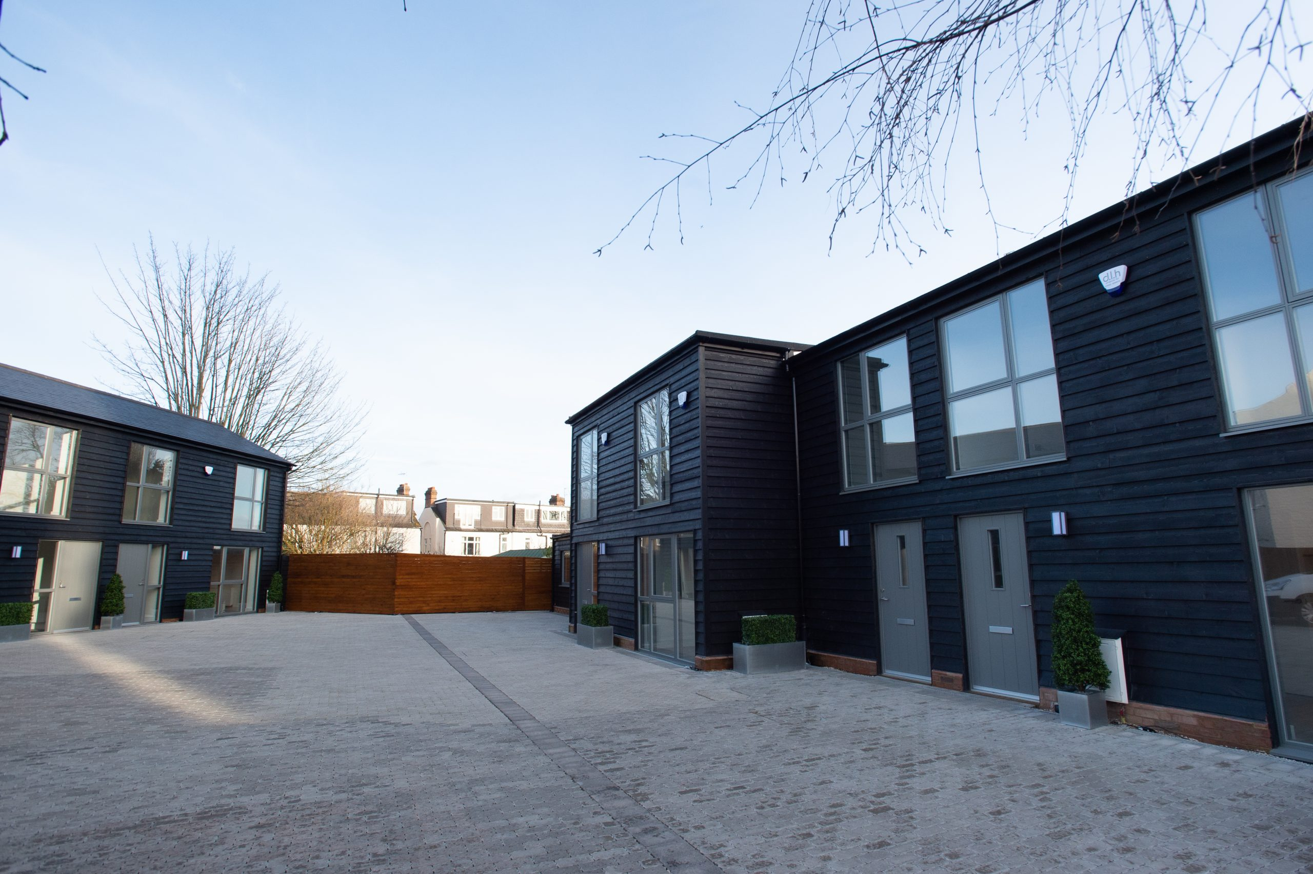 Two Barn Conversions in Chase Side North London