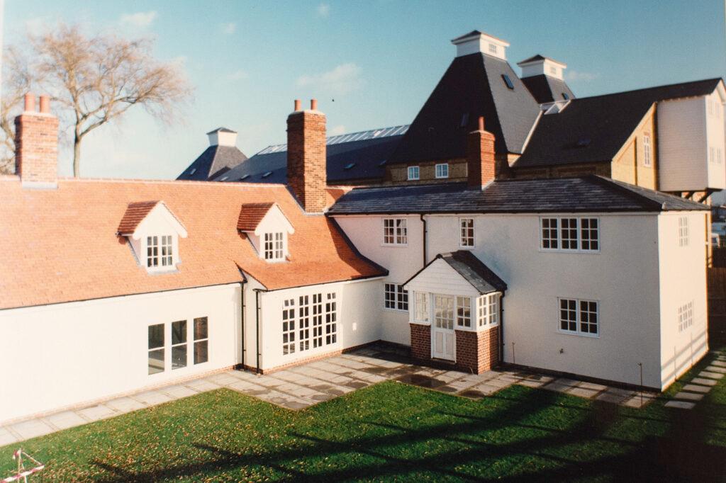 Saltcote Maltings new houses in Maldon