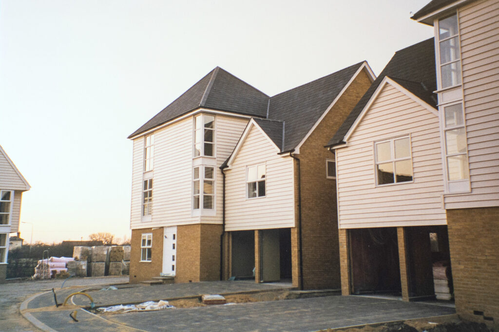 Saltcote Maltings 31 new houses in Maldon Essex