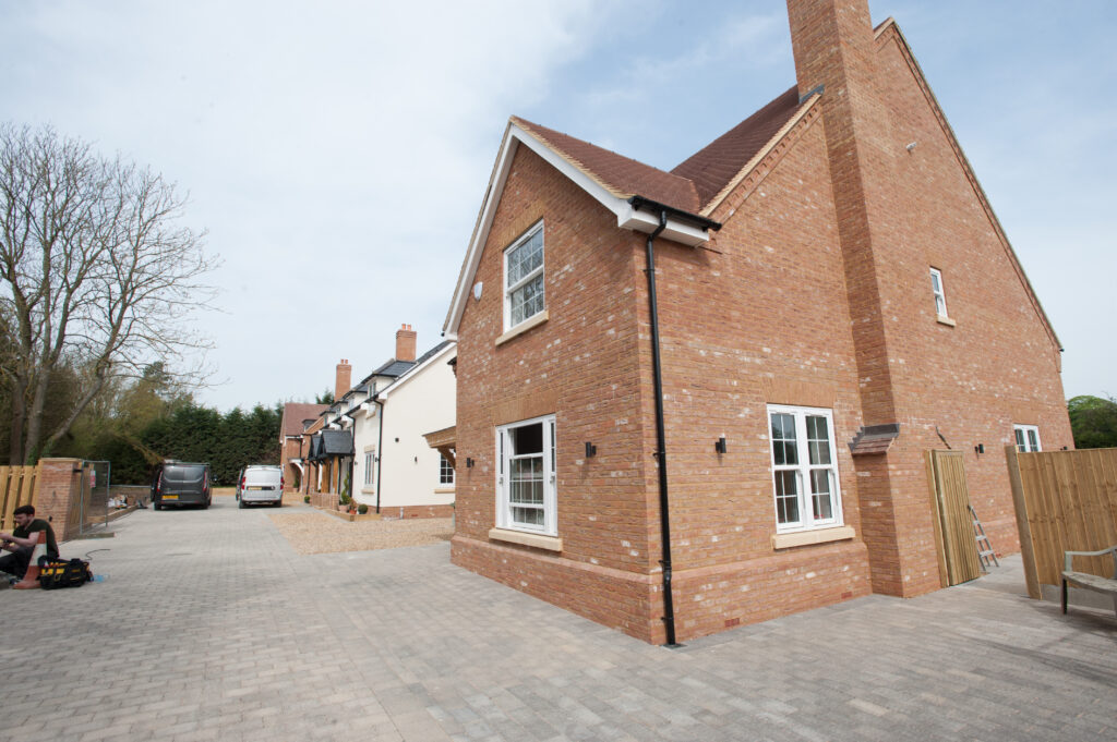 Private Gated New Build Homes in the open countryside of Walkern Herts