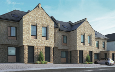5 New Build Townhouses in Barnet North London